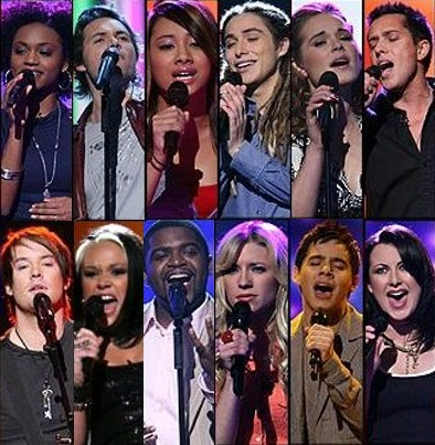 American Idol Season 7 Top 12