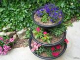 three tier planter