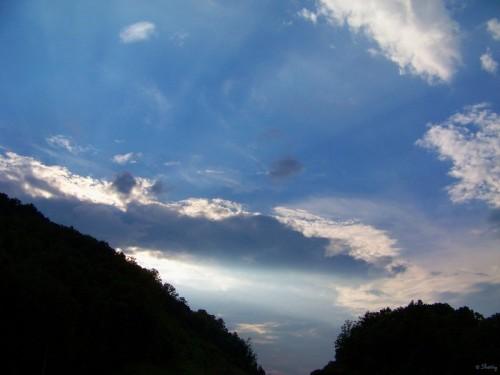 sun beacon and rays