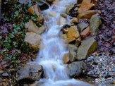 waterfall in secret garden