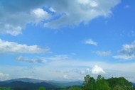 Sky over Great Smokies