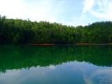 still water and quiet