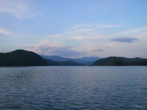 main channel of lake