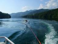 tubing and mtn views