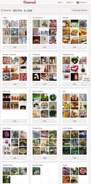 Sherry's Place on Pinterest