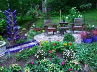 patio flower beds